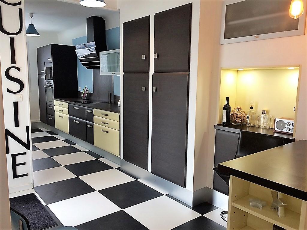 cuisine équipée armoires et meubles bas