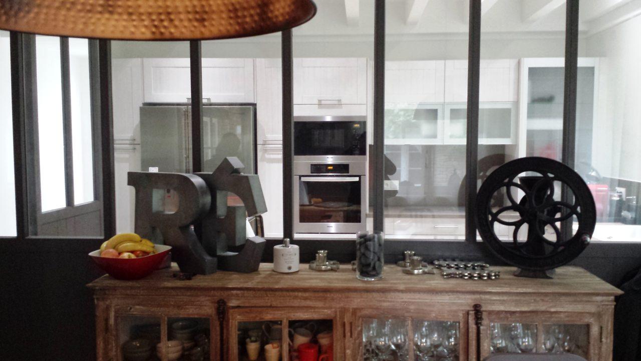 Verrières d'intérieur cuisine Ile de Ré