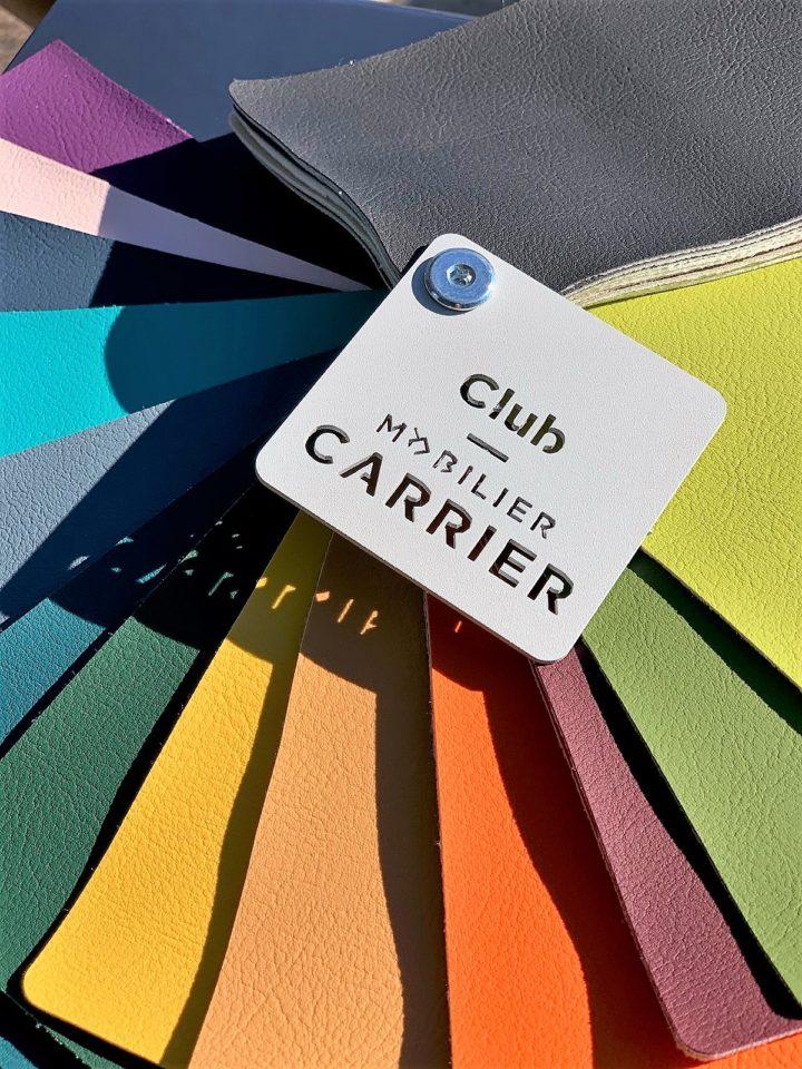 couleurs des assises tabourets et chaises carrier 2021